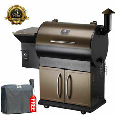Z GRILLS Wood Pellet Grill 8 in 1 BBQ Smoked Grill 700 SQIN Cooking Area, 20 lb
