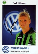 Frank Lieberam: VfL Wolfsburg 1995/1996, Stahl Riesa, Dynamo Dresden