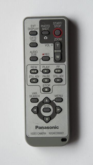 """ original Fernbedienung Panasonic N2QAEC000021 """