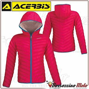 Tg S Piumino Giubbino Helmes Donna Acerbis Pink Rosa Invernale Lady Giacca wqzYnvvA