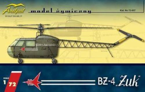 BZ 4 ZUK (BEETLE) - POLISH EARLY HELICOPTER 1 72 ARDPOL RESIN (pzl)