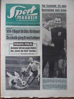 SPORT MAGAZIN 7 A - 14.2. 1966 BVB-Gladbach 3:1 HSV-KSC 8:0 Duisburg-Bremen 1:2