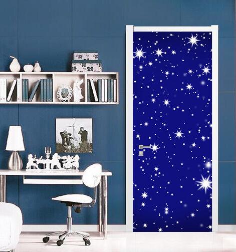 3D Sternenhimmel Tür Wandmalerei Wandaufkleber Aufkleber AJ WALLPAPER DE Kyra | Authentisch  | Abrechnungspreis  |