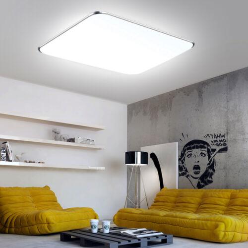 12W-128W Kaltweiß LED Deckenlampe Deckenleuchte Badleuchte Küche Wohnzimmer IP44