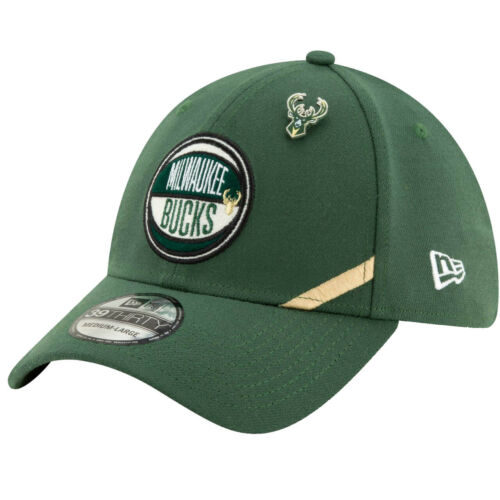 NBA 2019 DRAFT Milwaukee Bucks New Era 39Thirty Cap