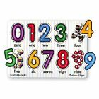 Melissa & Doug See Inside Numbers Puzzle 9pce