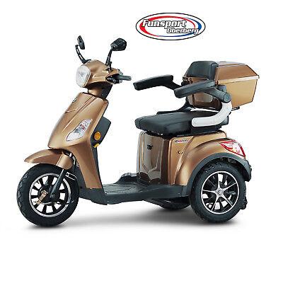 Neu--seniorenmobil, Dreirad Elektro Roller, Elektrorollstuhl, Econelo J 1000 Schrumpffrei