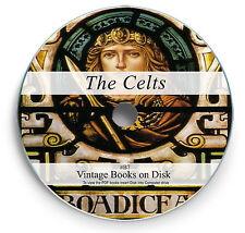 Rare Books on DVD Celtic History Culture Druids Celts Language Folk Lore Myth B7