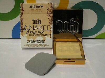 URBAN DECAY ~ STAY NAKED THE FIX 16 HOUR POWDER ~ 40 WY