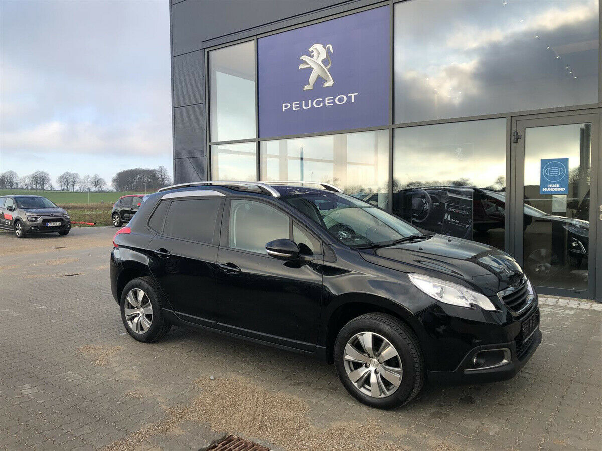 Peugeot 2008 1,2 VTi 82 Motion+ 5d - 94.990 kr.
