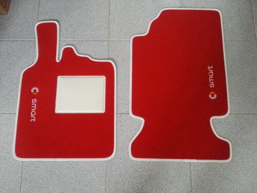 Tappetini Smart ForTwo bordi personalizzabili no original 28
