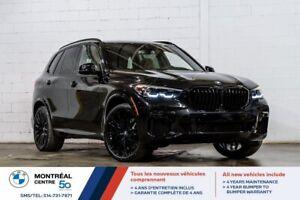 2022 BMW X5 XDrive40i, Premium, M Sport, Roues 22 po, Freins M, Cuir Vernasca