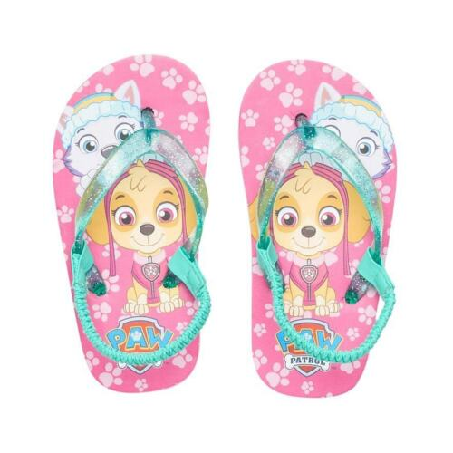 Toddler Girls PAW PATROL Size S 5//6  Shoes Flip Flops Sandals
