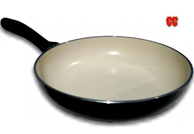 CÉRAMIQUE poêle anti adhésif nonstick recouvert cuisine GRAND 28cm cuisinière