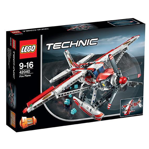 LEGO Technic 42040 Löschflugzeug   2 in 1 Propellerflugzeug Jet NEU OVP Feuer