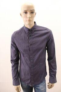 Camicia-GUESS-LOS-ANGELES-Uomo-Chemise-Shirt-Man-Taglia-Size-M