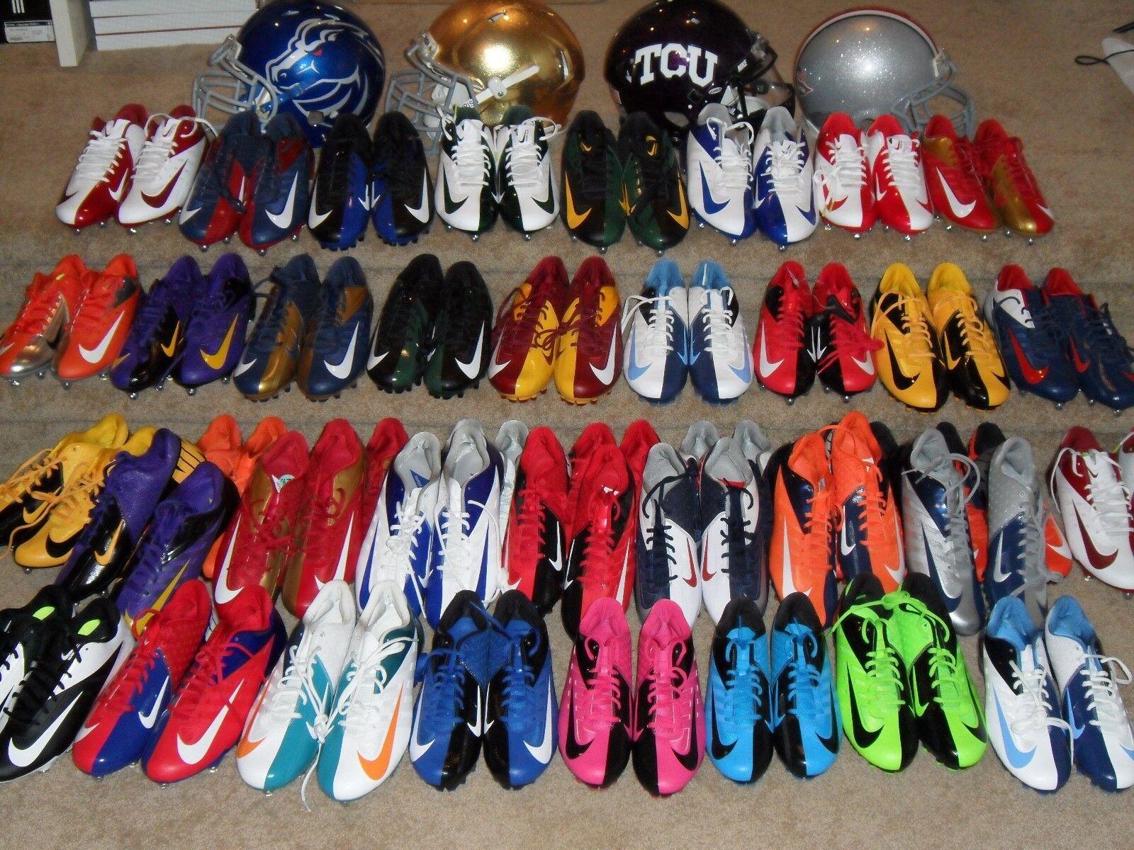 New Mens Vapor Elite Vapor Pro D & TD Low Football Cleats NFL NCAA Team colors