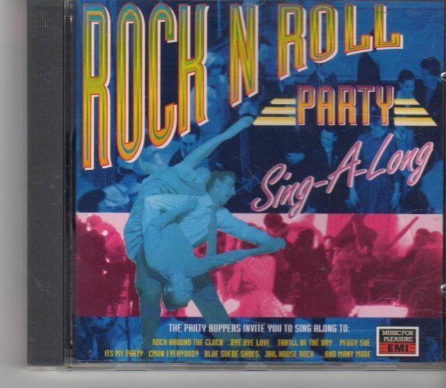 (FX766) The Party Boppers, Rock N Roll Party Sing-A-Long - 1993 CD