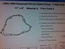 Kawasaki KX125 Clutch cover Gasket 1982 1983 1984