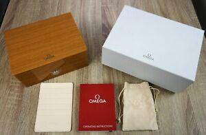 OMEGA-Watch-Box-Wood-Seamaster-Speedmaster-Constellation-Wooden
