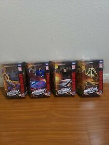 Transformers Kingdom Scorponok, Tracks, Wheeljack, Wingfinger 4lot!!