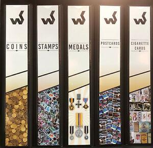 WESTGATE-STAMP-COIN-MEDAL-POSTCARD-CIG-CARD-4-RING-ALBUM-SPINE-POCKET