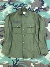 US ARMY OG 108 SHIRT WOOL FIELD MAN'S 2 POCKET OLIVE GREEN NSN 8415-00-188-3792