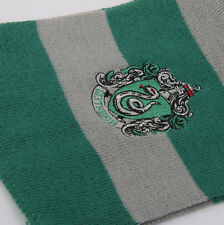 1x Harry Potter Gryffindor Cosplay Costume Long Knit Wool Scarf Gray + Green