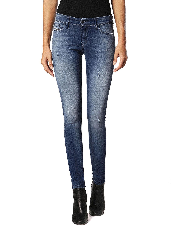 Diesel Slandy 084IY Elasticizzato Jeans Pantaloni women Magro Magro