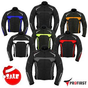 Men-039-s-Motorbike-Waterproof-Cordura-Jacket-Motorcycle-Armours-Textile-Jacket-Coat