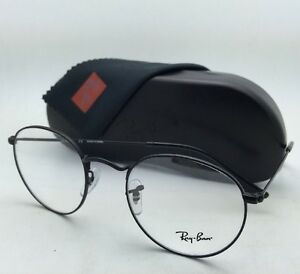 1b628dcd88 New RAY-BAN Rx-able Eyeglasses RB 3447V 2503 50-21 Matte Black Round ...