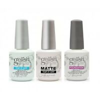 Gelish Harmony Gel Top, Matte, Base Coat -pick Any 0.5oz