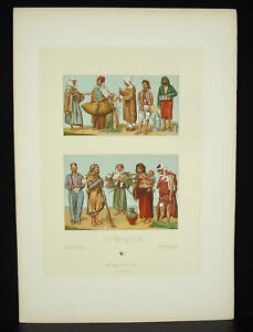Suits-Traditional-Africa-Africa-Urrabiette-Firmin-Didot-c1888-Lithography