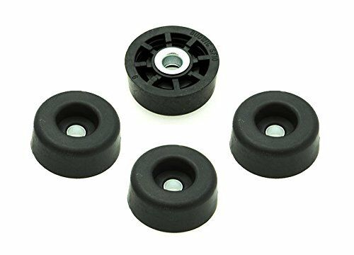 CASES US MADE 20 SUPER SOFT ROUND RUBBER FEET 1 INCH X 1//2 INCH  AMPS