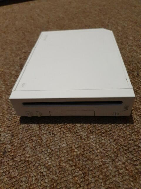 Nintendo Wii RVL-001 Consola-Blanco/Wii U dibujar