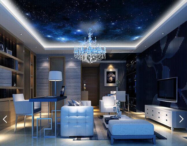 3D Nacht Sterne Universum 5 Fototapeten Wandbild Fototapete BildTapete DE Kyra