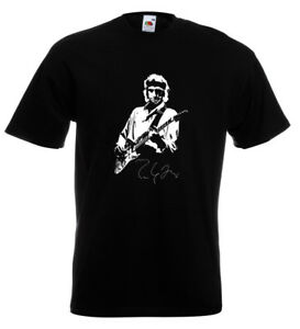 Mark-Knopfler-Dire-Straits-Autograph-T-Shirt-John-Illsley-Sultans-Of-Swing