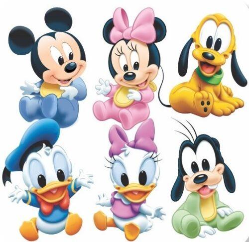 Baby Mickey Y Amigos B//W cross stitch chart buy 1 Get 1 Mitad De Precio