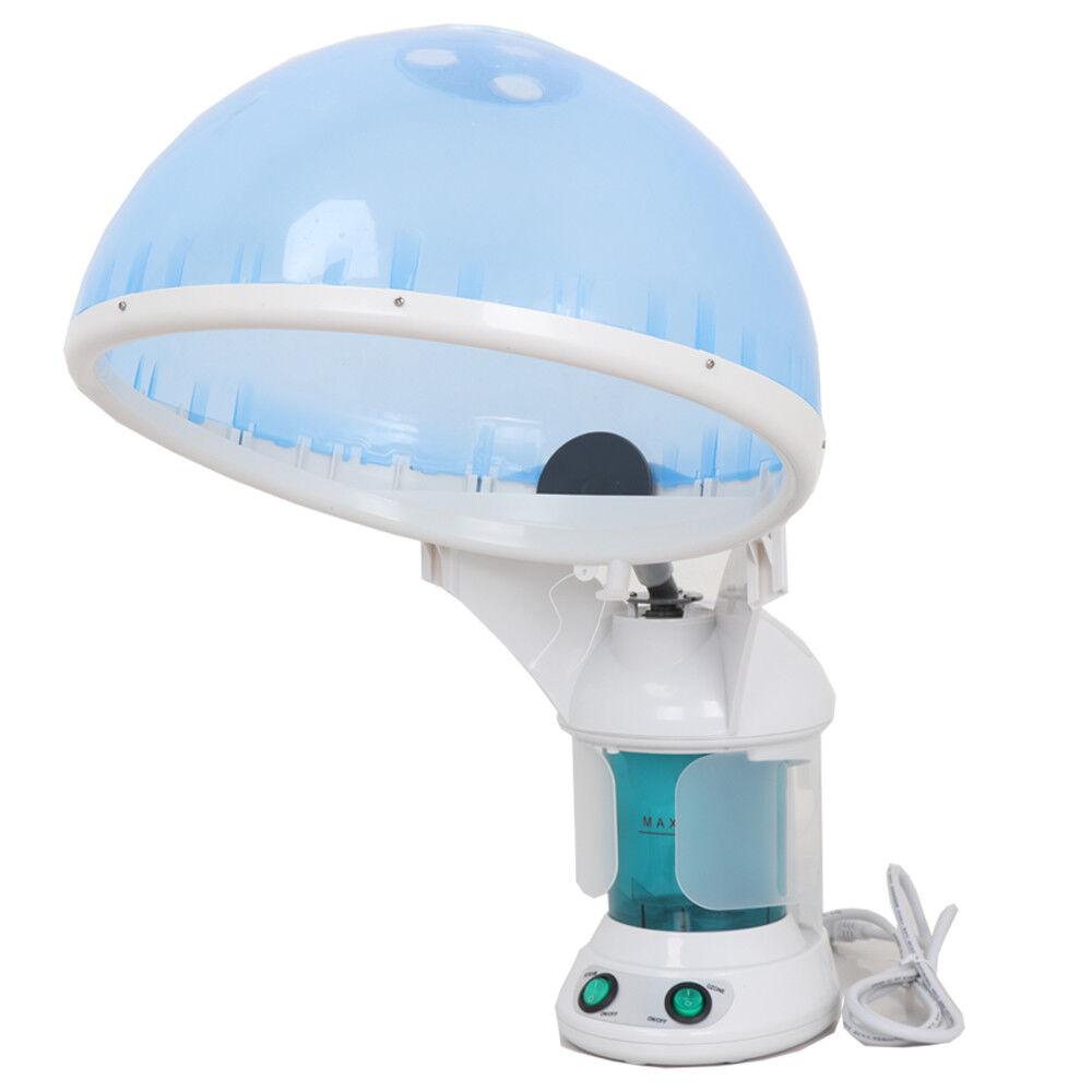 Ozone Blue Hair and Facial Steamer w/ Bonnet Hood Attachment