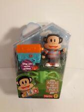 "NEW Julius Jr 3/"" Tool Box-A-Lot Figure Set Animal Doll Monkey Toy Nick Jr"