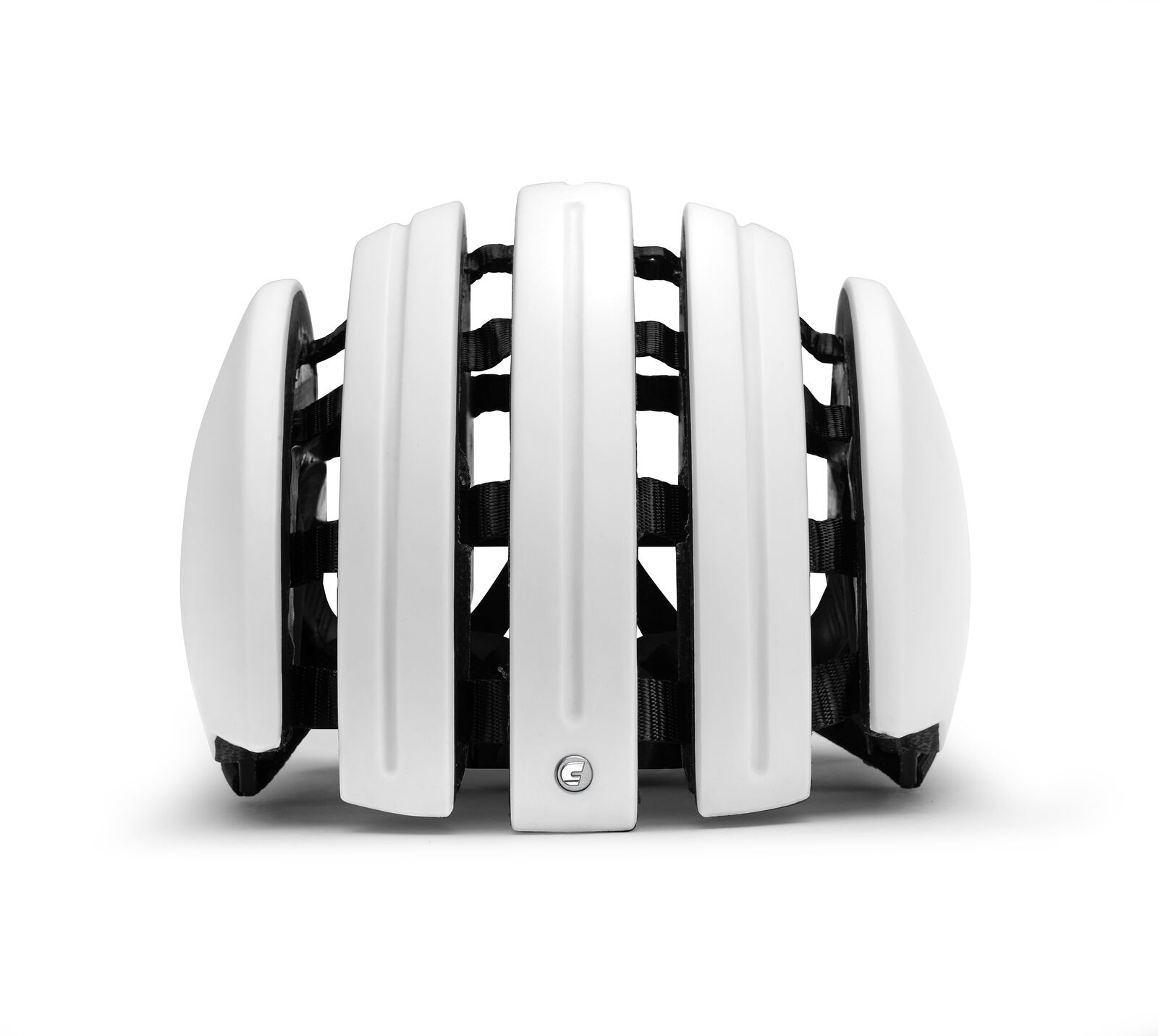 Carrera Fahrradhelm  FOLDAB PREM_C white Unifarben faltbar