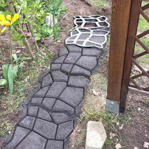 Moule Pavé Dalles Ciment Réutilisable Pierre Béton Chemin Déco Jardin Pavage FR
