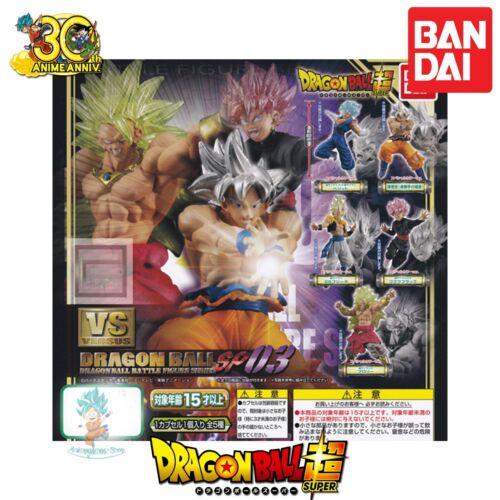 Gashapon Dragon ball super VS dragon ball SP 03 figurine VEGITTO SS GOD BANDAI.