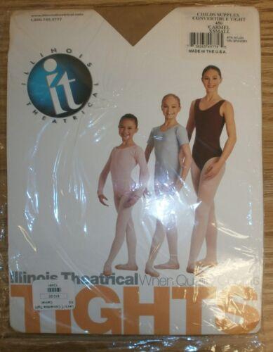 Illinois Theatrical Carmel Child Supplex Convertible Tights Small Item #550A 450