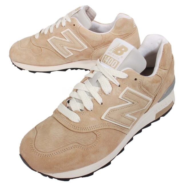 New Balance M1400be D Kahki White Mens Retro Running Shoes Sneakers M1400bed Men Sporting Goods