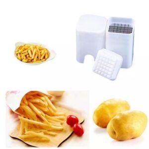 Potato-Chipper-French-Fries-Cutter-Vegetable-Chopper-Slicer-Thin-Kitchen-Tool-OZ