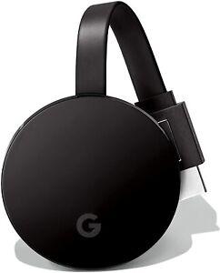 Google Chromecast Ultra 4K HD & HDR Streaming Device - Black