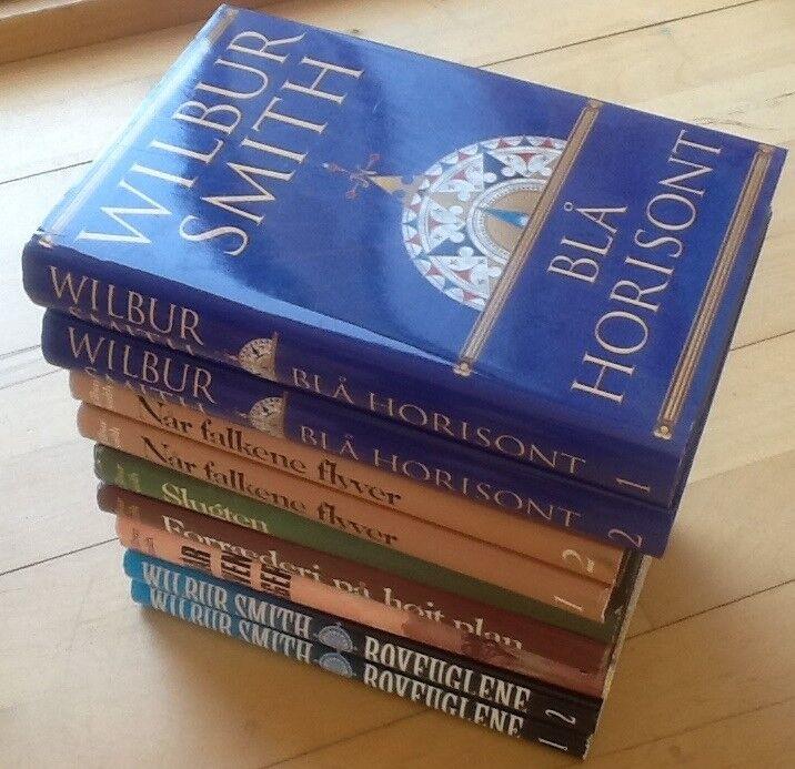 Wilbur Smith bøger, Wilbur Smith, genre: anden kategori