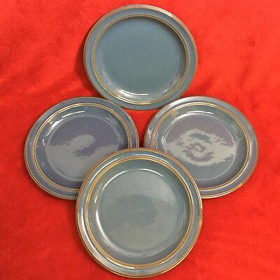 "Dansk~Sirocco~Indigo Blue~9/"" Salad Plate"