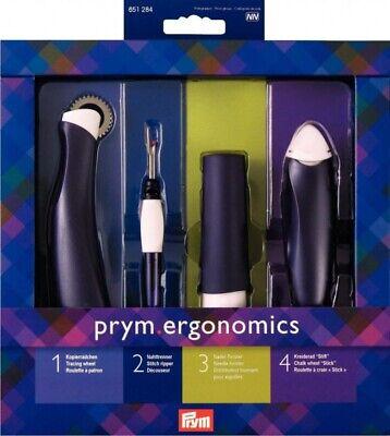 FREE P/&P ERGONOMIC DESIGN, 610 155 PRYM HANDLES SET FOR FELTING NEEDLES